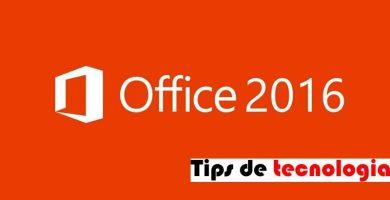 instalar office 2016