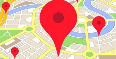 Salir en google maps