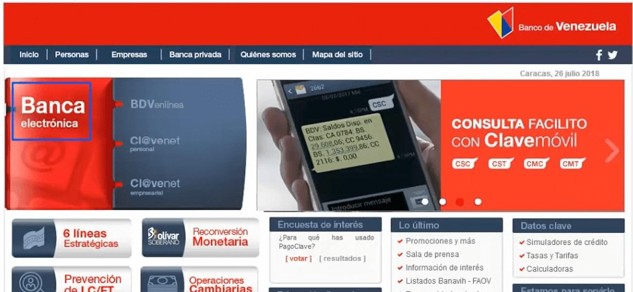 afiliarte al banco de venezuela